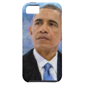 Abstract Portrait of President Barack Obama 30x30 iPhone 5 Covers