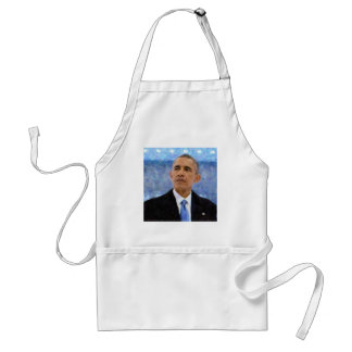 Abstract Portrait of President Barack Obama 30x30 Standard Apron