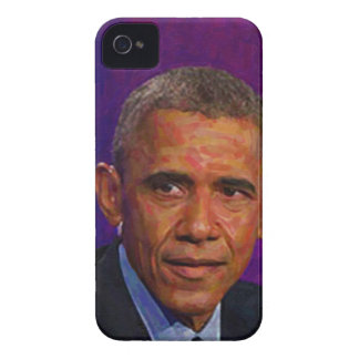 Abstract Portrait of President Barack Obama 7 iPhone 4 Cases
