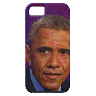Abstract Portrait of President Barack Obama 7 iPhone 5 Covers