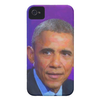 Abstract Portrait of President Barack Obama 8 a.jp iPhone 4 Case-Mate Cases