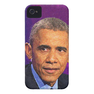 Abstract Portrait of President Barack Obama 8 iPhone 4 Case-Mate Case