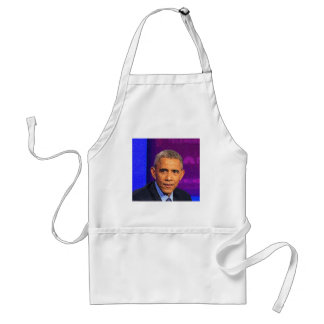 Abstract Portrait of President Barack Obama 8 Standard Apron