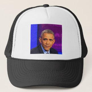 Abstract Portrait of President Barack Obama 8 Trucker Hat