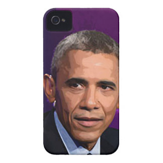 Abstract Portrait of President Barack Obama 9 Case-Mate iPhone 4 Case