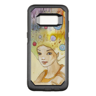 Abstract portrait OtterBox commuter samsung galaxy s8 case
