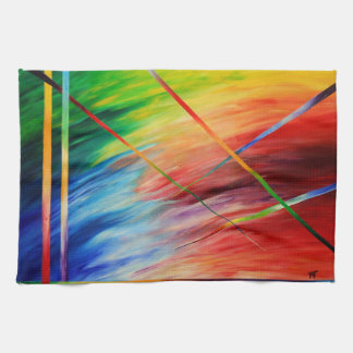 abstract - power of creation - Kitchen towel