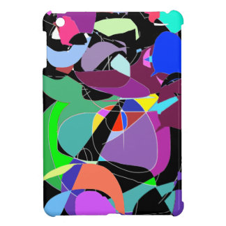 Abstract Print iPad case iPad Mini Case