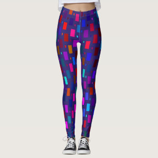 ABSTRACT PRINT LADIES LEGGINGS
