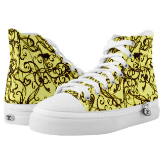 Abstract Printed Shoes