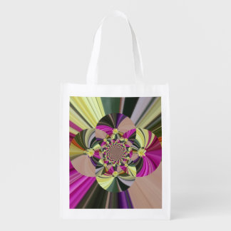 Abstract Psychedelic Floral Pattern