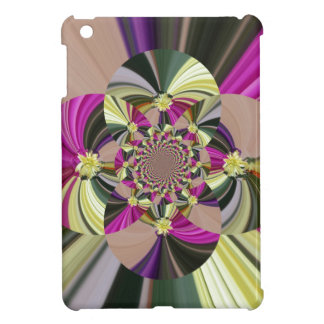 Abstract Psychedlic Floral Pattern iPad Mini Case