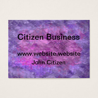 Abstract purple and pink texture business card