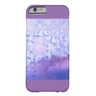 Abstract Purple Barely There iPhone 6 Case