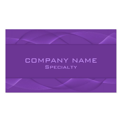 Abstract purple Business Cards