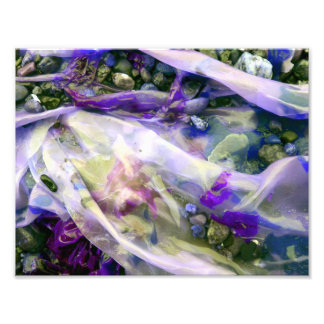 Abstract Purple Candy Kelp Photo Print