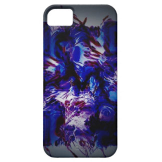 abstract purple crazy bar barcode scanner weird am iPhone 5 cases