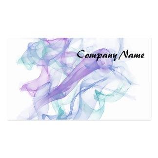 Abstract Purple Haze Business Card Template
