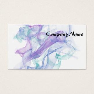 Abstract Purple Haze Business Card
