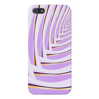 Abstract purple line iPhone 5/5S cover
