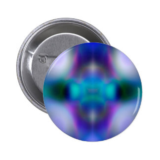 Abstract purple pattern 6 cm round badge
