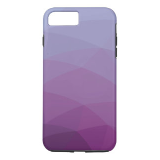 Abstract purple polygonal iPhone 7 plus case