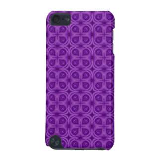 Abstract Purple Wood Pattern iPod Touch (5th Generation) Case