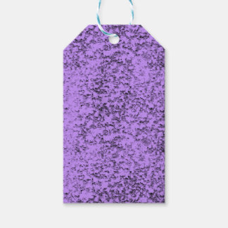 abstract purples gift tags