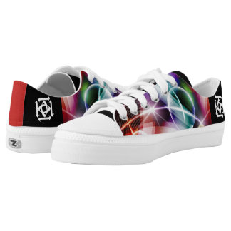 Abstract Queens Low Tops