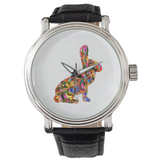 Abstract Rabbit Watch