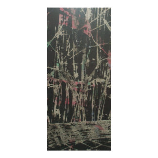 abstract personalized rack card