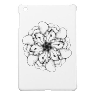 Abstract Radial Design- Floral #1 iPad Mini Cases