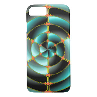 Abstract radial object iPhone 7 case