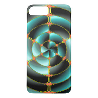 Abstract radial object iPhone 7 plus case
