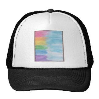 Abstract Rainbow Cap