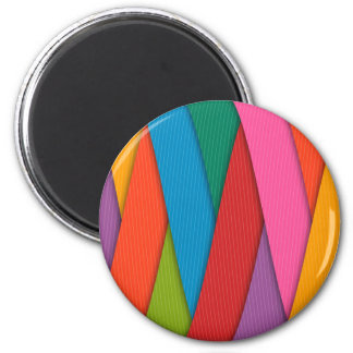 Abstract Rainbow Colors Background Magnet