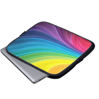 Abstract Rainbow Computer Case Laptop Sleeves
