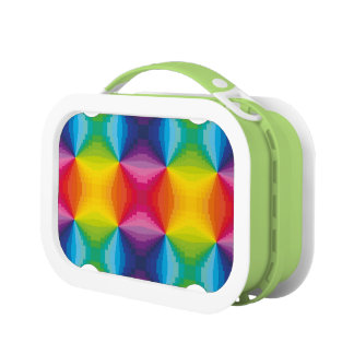 Abstract Rainbow Lunch Box