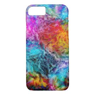 Abstract Rainbow Nebula iPhone 7 Case