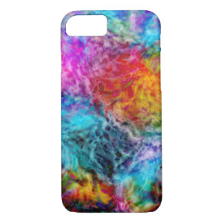 Abstract Rainbow Nebula iPhone 8/7 Case
