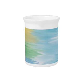 Abstract Rainbow Pitcher