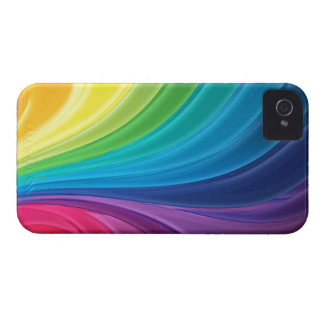 Abstract Rainbow Swirl Blackberry Bold Case