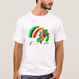abstract rainbow T-Shirt