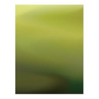 Abstract Rainforest Postcard