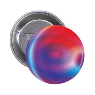 Abstract Ray of Light Pinback Buttons