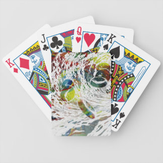 Abstract Red Blood Cells Medical Gifts Bicycle Playing Cards