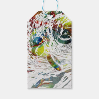 Abstract Red Blood Cells Medical Gifts Gift Tags