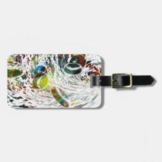 Abstract Red Blood Cells Medical Gifts Luggage Tag