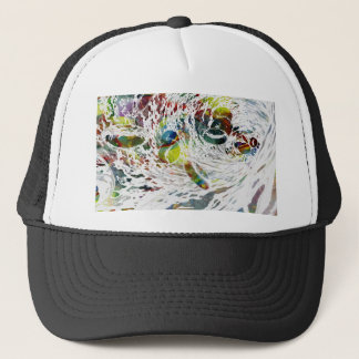 Abstract Red Blood Cells Medical Gifts Trucker Hat