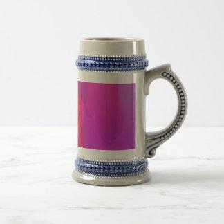 Abstract  Red Coffee Mug